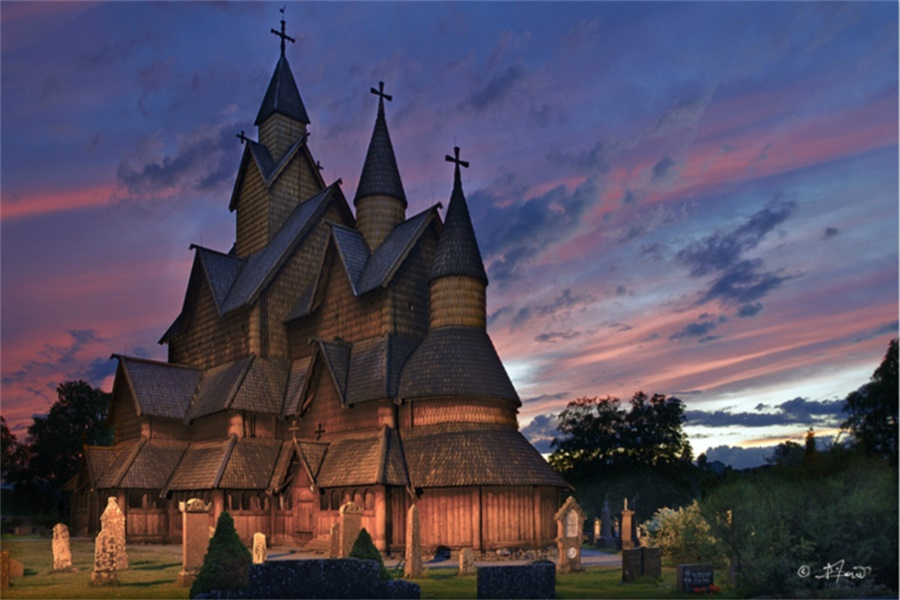 海达尔木教堂 Heddal Stave Church