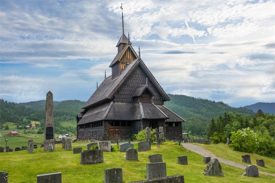 埃兹堡木教堂 Eidsborg Stave Church