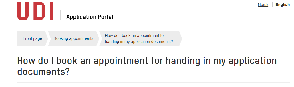Booking Appointment